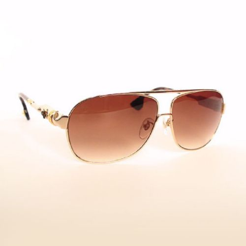 Chrome Hearts SGD BUEK gold brown