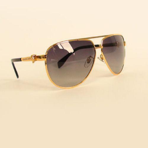 Alexander McQueen AMQ 4156S 004jj gold black