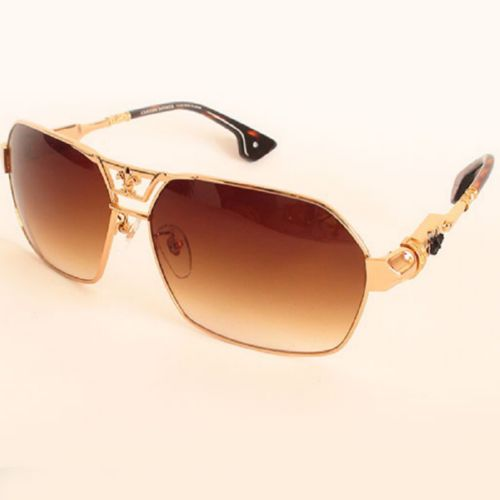 Chrome Hearts DIXON YO gold brown