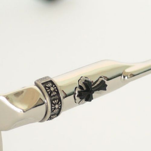 Chrome Hearts SSL BUEK silver black