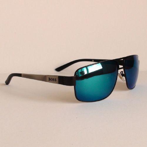 BOSS 0531/S C2 silver black blue