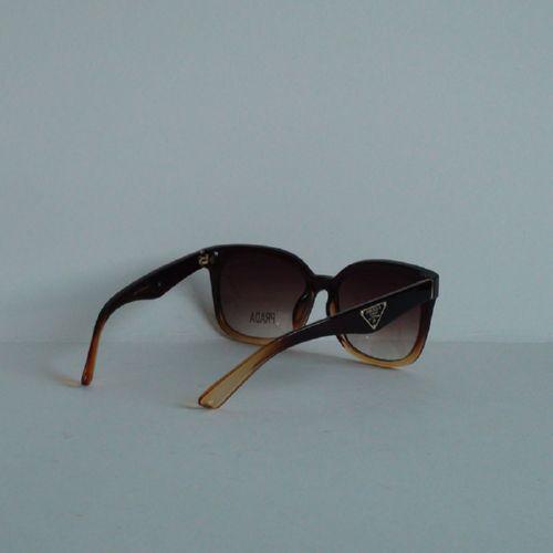 PRADA PR 336 brown brown