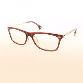 Chrome Hearts Оправа Herman S1037 col 3 brown gold