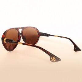 Chrome Hearts DT HOT COOTER brown-leo-gold brown