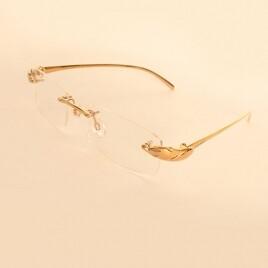 Cartier Оправа 8200875 pure titanium gold