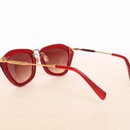MIU MIU SMU 10 NS C14 red-gold brown