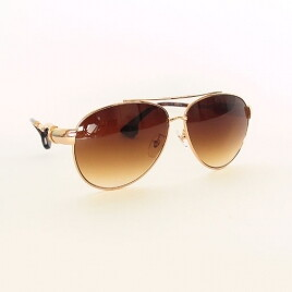 Chrome Hearts HOT COOTER GD gold brown