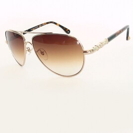 Chrome Hearts GD MS-METTATER gold brown