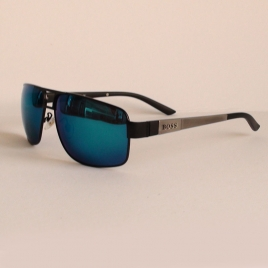BOSS 0531/S C2 silver black blue