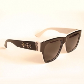 Chrome Hearts SHLORE II black white
