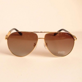 GUCCI GU 10006 gold black brown