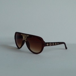 Louis Vuitton Z0939 brown brown