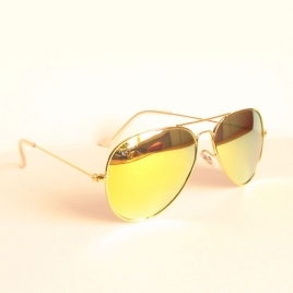 Ray Ban RB3025 Aviator Classic gold zer orange