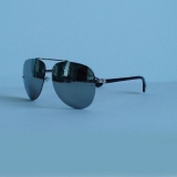 Chrome Hearts Aviator black silver silver
